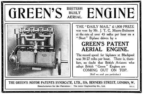 Green's Aeroplane Engines