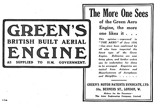 Green's British Built Aerial Engines