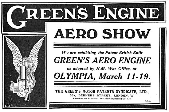 See The Green's Aero Engines On Display At Olympia