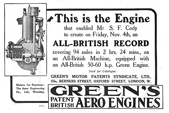 This Is The Green's Engine That Enabled Cody To Break The Record