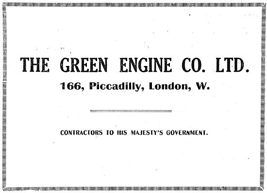 The Green Engine Co Ltd - Contractors To HM Government