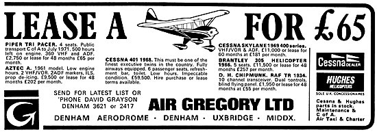 Air Gregory Aircraft Sales & Services