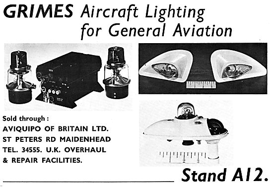 Grimes Aircraft Lighting - Aviquipo