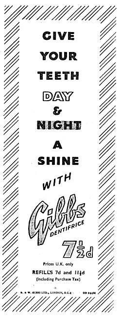 Gibbs Dentifrice - Gibbs Toothpaste