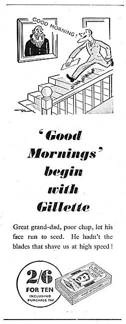 Gilette Razor Blades