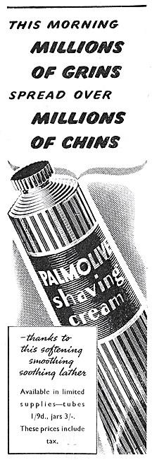 Palmolive Shaving Cream 1947