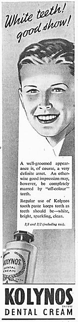 Kolynos Toothpaste 1947