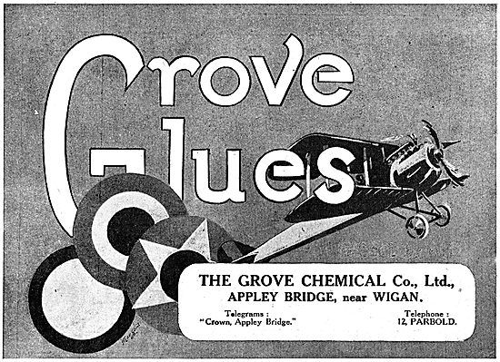 The Grove Chemical Co.Ltd. Aircraft Glues
