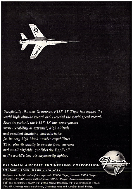 Grumman F11F-1F Tiger