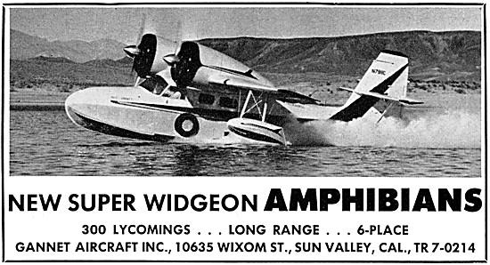 Grumman G-44 Super Widgeon - Gannet Aircraft