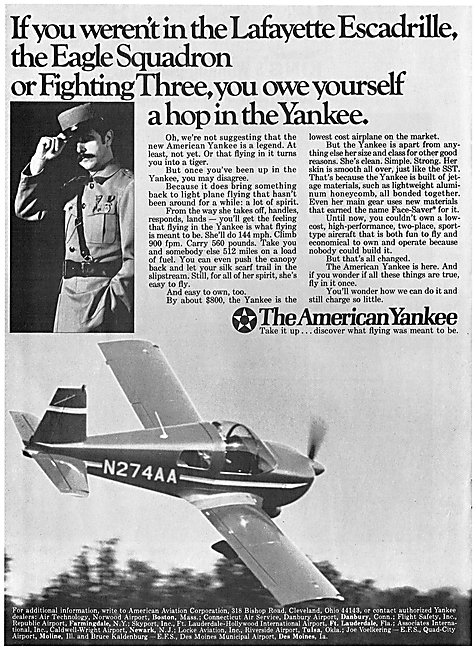 American Aviation Yankee