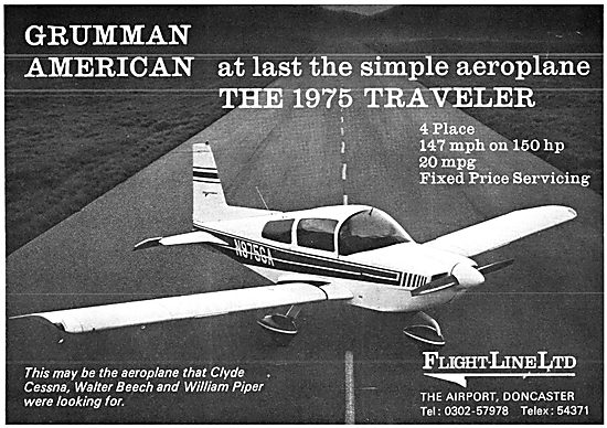 Grumman American AA5 Traveller