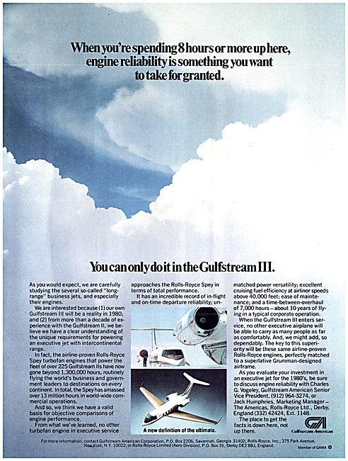 Gulfstream American Gulfstream III