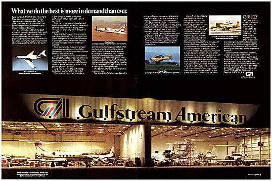 Gulfstream American Aircraft 1979