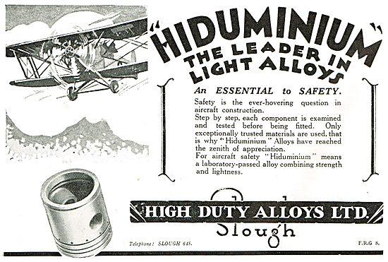 HDA Hiduminium - The Leaders In Light Alloys