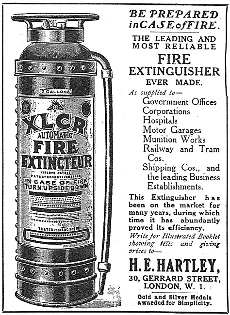 H.E.Hartley - XLCR Fire Extinguishers