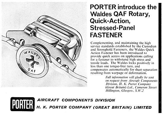 H.K.Porter Waldes QAF Rotary Quick Action Panel Fastener