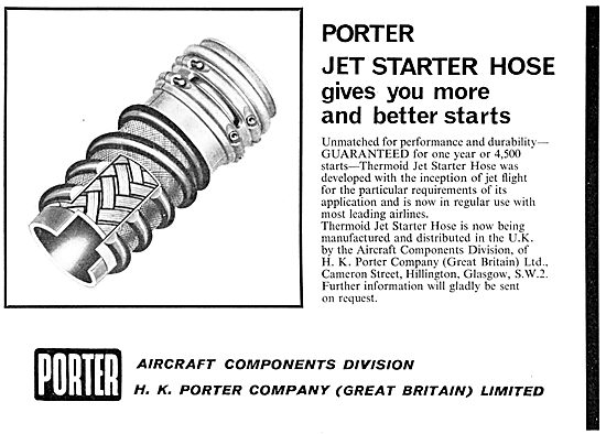 H.K.Porter Company.  Jet Starter Hoses