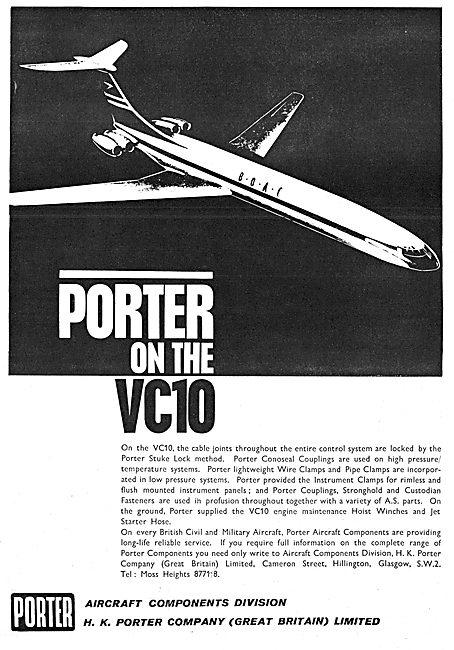 H.K.Porter Aircraft Components.