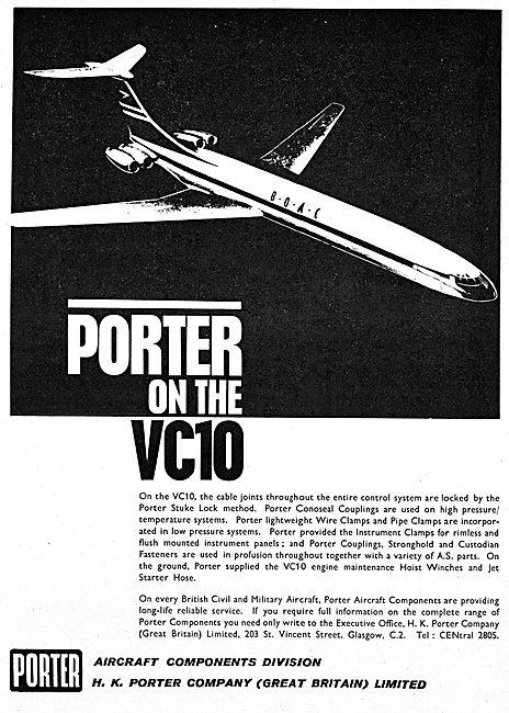 H.K.Porter Aircraft Components. Porter Stuke Lock Method