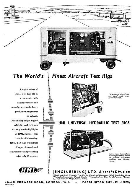 HML Universal Hydraulic Test Rig