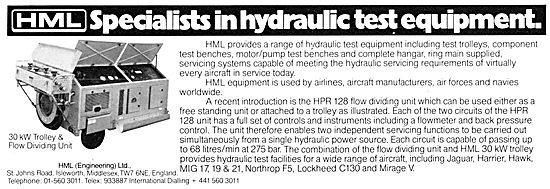 HML Hydraulic Test Equipment