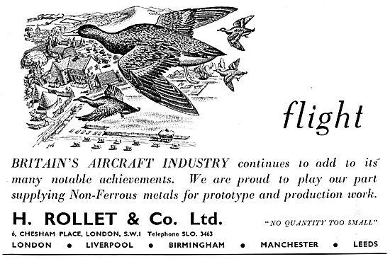 H. Rollet & Co Non-Ferrous Metals