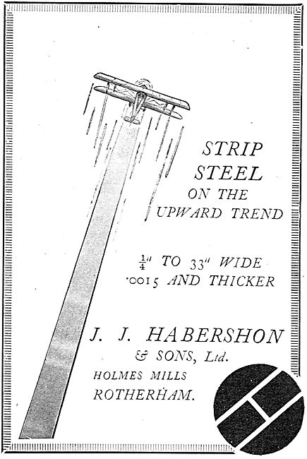 Habershon Steel Strip For Aircraft - On The Upward Trend