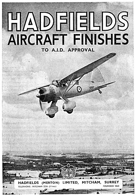 Hadfields Aircraft Finishes