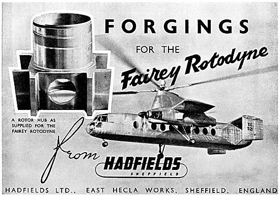 Hadfields Castings & Forgings In Alloy Steel