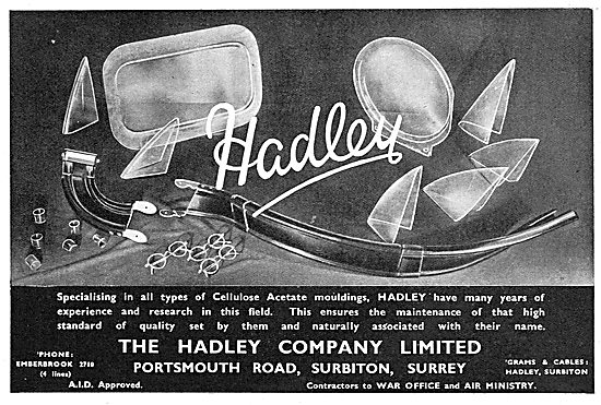 Hadley Cellulose Acetate Mouldings 1939