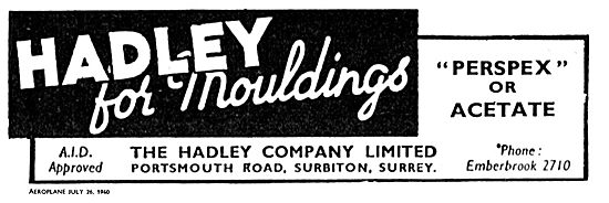 Hadley Perspex Or Acetate Mouldings