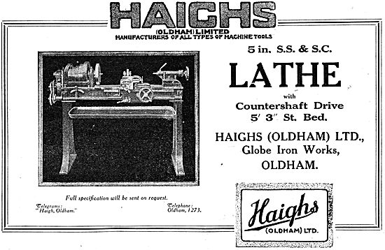 Haighs Of Oldham: 1917  5