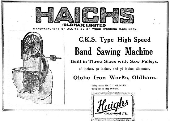 Haighs Of Oldham: Band Saws For The Aviation Industry
