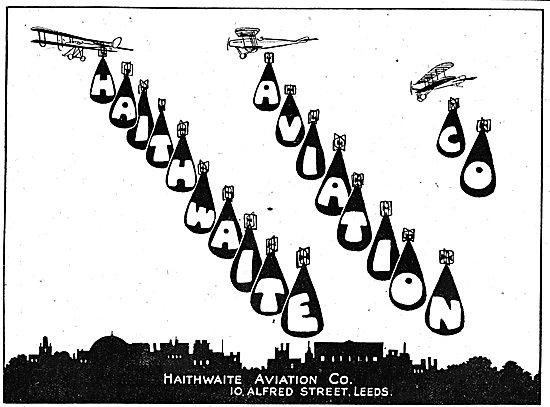 Haithwaite Aviation Co. Aeronautical Engineers & Sheet Metal Work