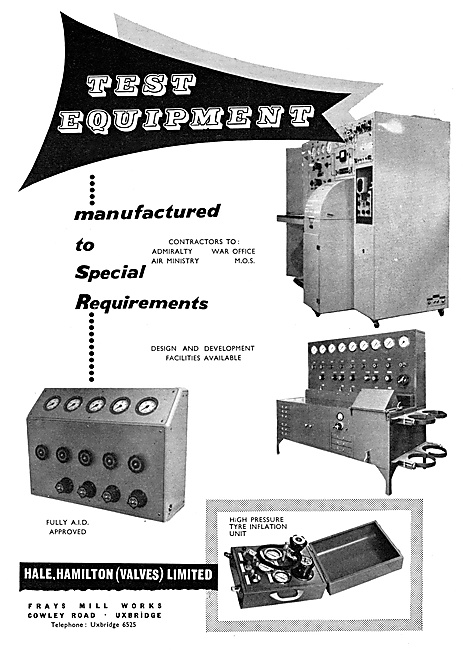 Hale Hamilton Test Equipment