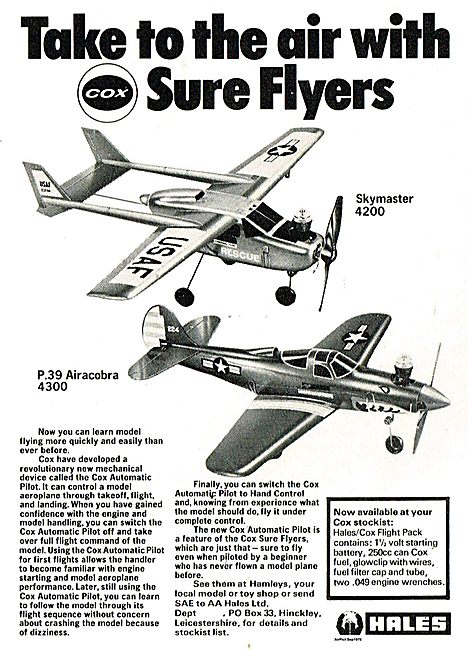 Hales Cox Skymaster 4200 - P39 Aircobra 4300