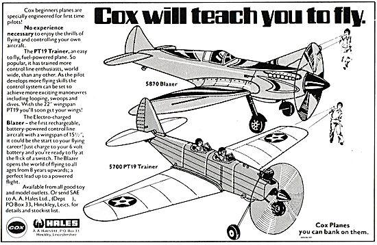 Hales Cox S870 Blazer & S700 PT19 Trainer