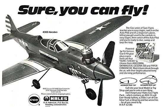 Hales Cox Skymaster  - P39 Aircobra 4300