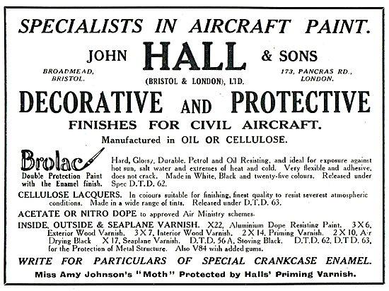 Halls Aircraft Finishes - Brolac
