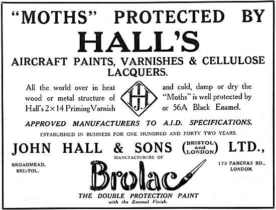 Halls Aircraft Paints & Finishes