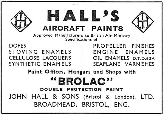 Halls Aircraft Paints And Finishes