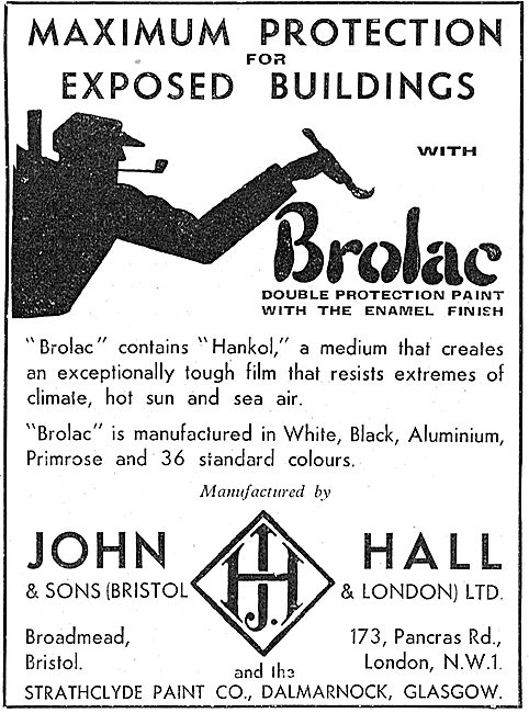 Halls Aircraft Paints And Finishes - Brolac For Hangars & Offices