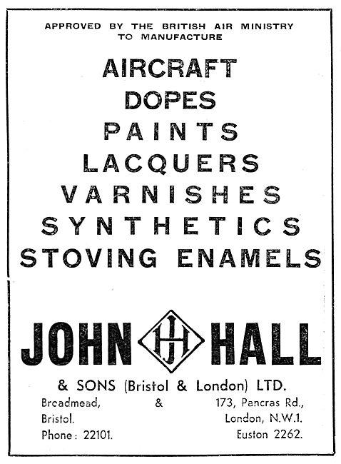 John Hall. Halls Aircraft Finishes