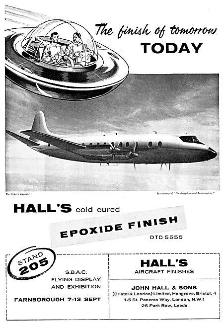 John Hall & Sons - Halls Aircraft Finishes