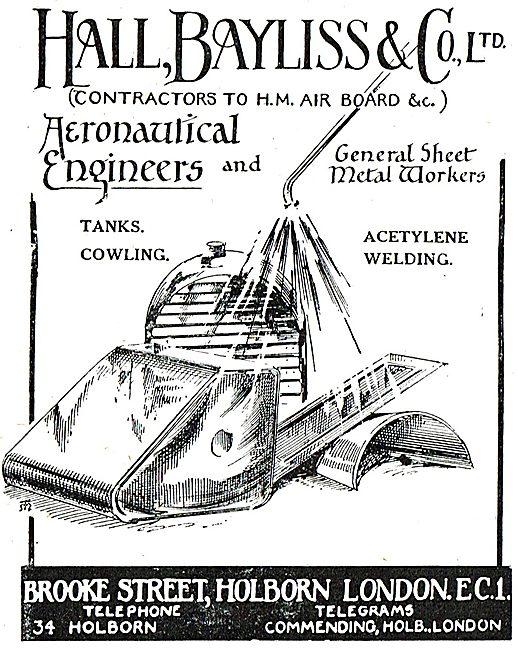 Hall Bayliss & Co - Aeronautical Engineers & Sheet Metal Workers