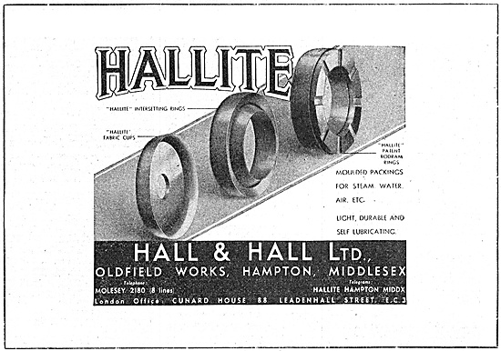 Hall & Hall - Hallite Seals & Packings