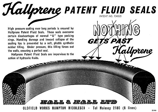 Hall & Hall - Hallprene Synthetic Rubbers