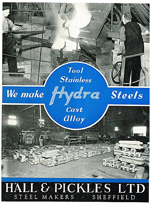 Hall & Pickles Steelmakers, Wire & Toolmakers - Hydra Steels