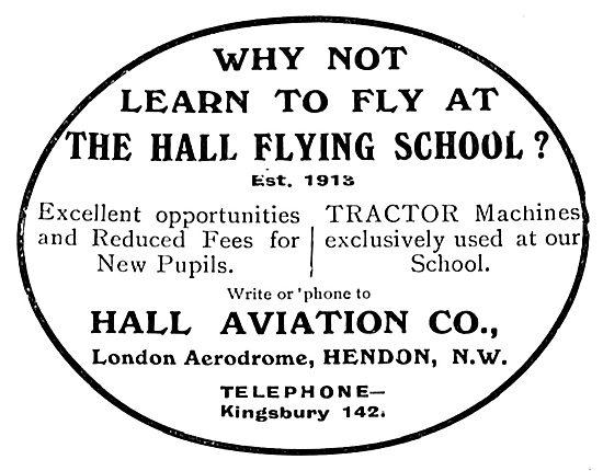 Hall School Of Flying